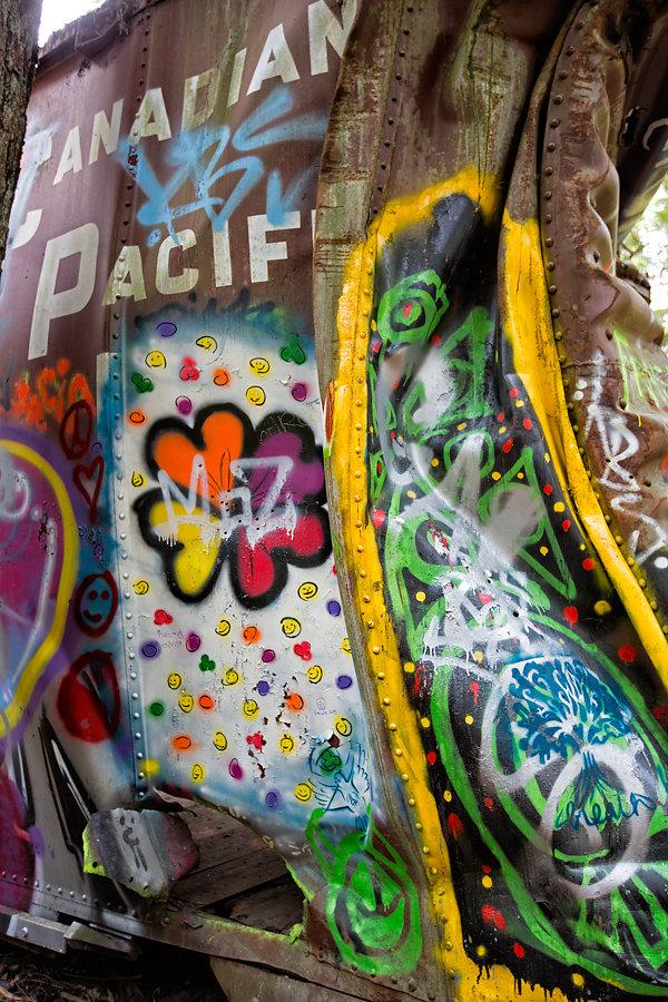 Graffiti Train Peace